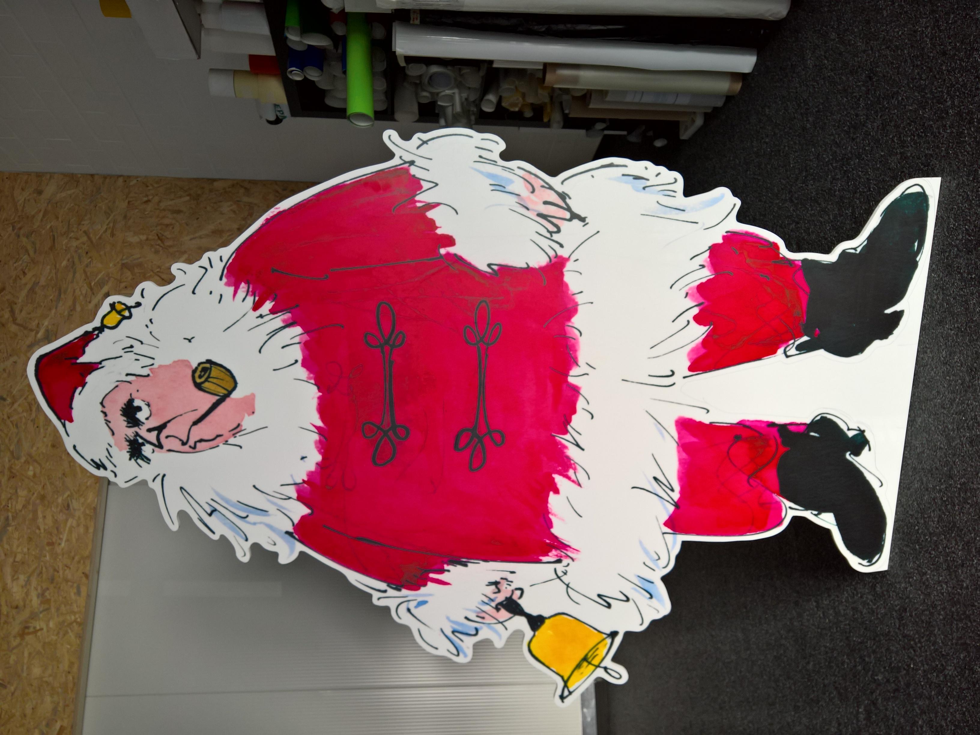 Nikolaus in Lebensgröße